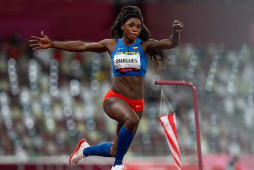 Caterine Ibargüen fue décima en el salto triple de los Juegos Olímpicos Tokio 2020.