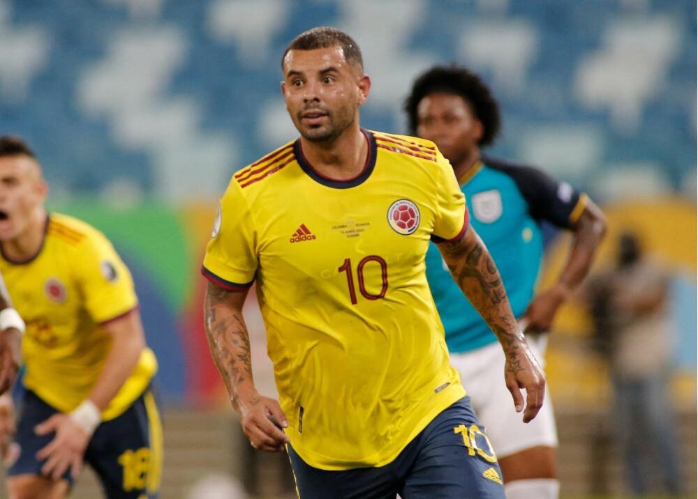 Edwin Cardona Selección Colombia AFP.