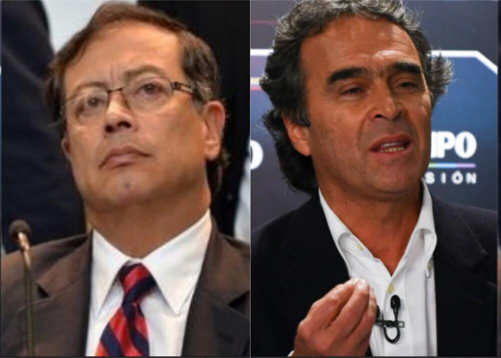 368418_Gustavo Petro y Sergio Fajardo // Foto: AFP / BLU Radio