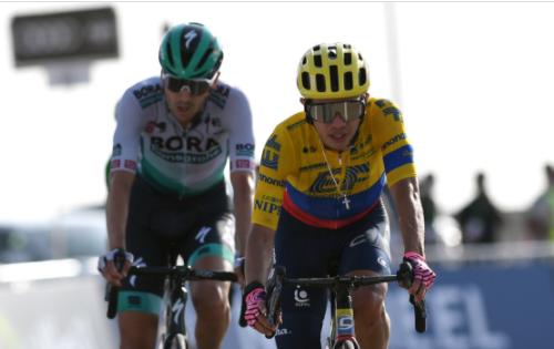 Sergio Higuita estará en la Tirreno-Adriático 2021. Getty Images