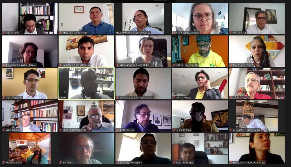La izquierda colombiana se aglutina de cara a las elecciones de 2022