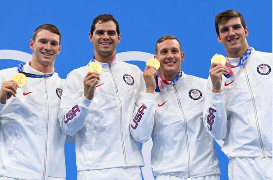 Caeleb Dressel ganó cinco oros en la natación de los Juegos Olímpicos Tokio 2020.