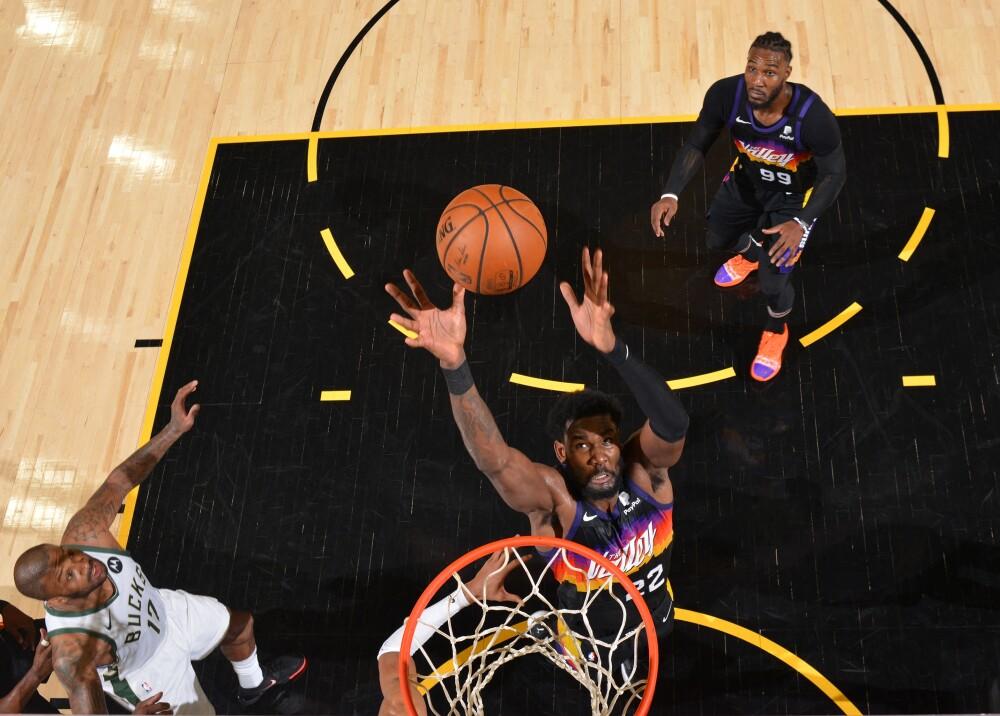 Suns Buks NBA Foto AFP.