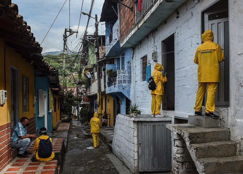 366300_Medidas en Medellín contra el coronavirus // Foto: AFP