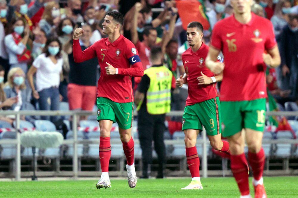 Cristiano Ronaldo Portugal  v Luxembourg -World Cup Qualifier