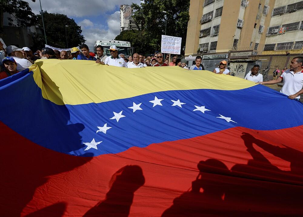 2278_Bandera de Venezuela - Foto de referencia: AFP