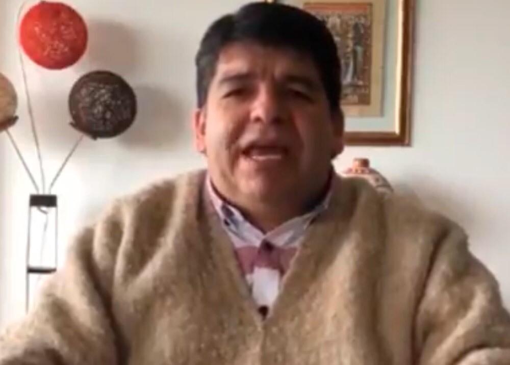 365975_Nelson Alarcón, presidente de Fecode // Foto: Twitter @Nelsonalarcon74
