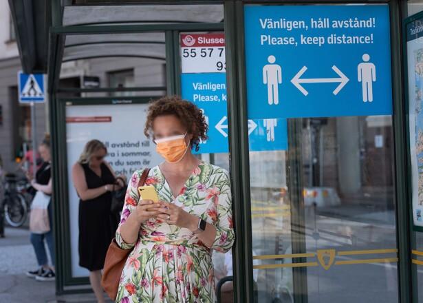 Pandemia en Suecia // Foto: AFP