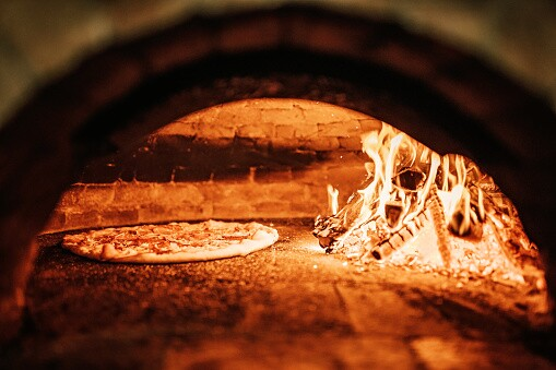 Imagen referencia horno de pizza