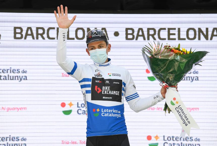 Esteban Chaves se coronó campeón de la montaña y los puntos en la Vuelta a Cataluña.