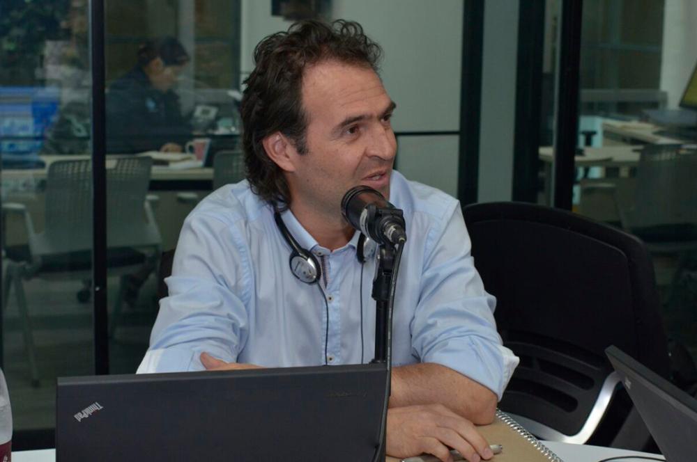 267556_BLU Radio Federico Gutiérrez, alcalde de Medellín / Foto: Cortesía Alcaldía de Medellín