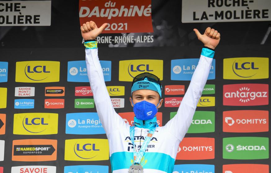 Alexey Lutsenko fue el ganador de la etapa 4 del Critérium del Dauphiné.