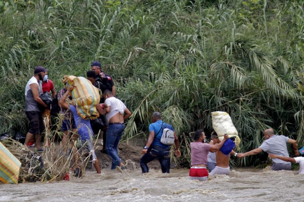 Migración de venezolanos frontera pasos foto afp.jpeg