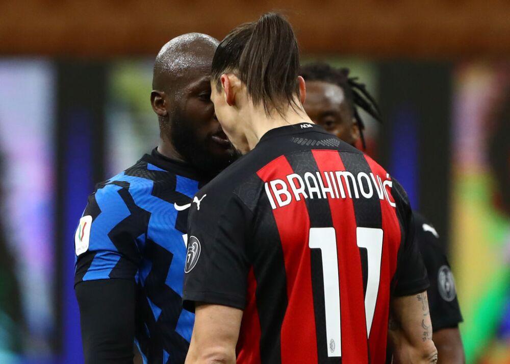 Zlatan Ibrahimovic y Romelu Lukaku