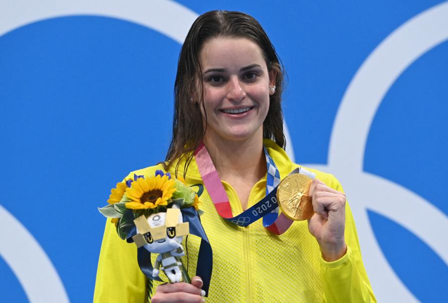 Kaylee McKeown ganó el oro en la prueba de 100 metros espalda de la natación, de los Juegos Olímpicos de Tokio 2020.