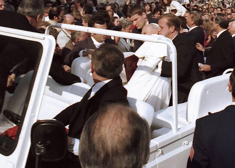 Atentado contra el papa Juan Pablo II el 1981