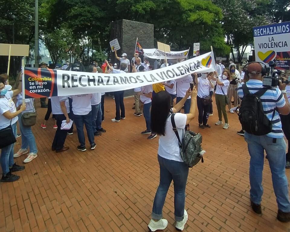 25602_Marchas en Medellín / Foto: Blu Radio