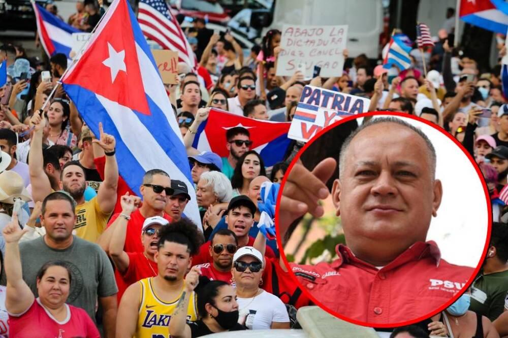 Protestas en Cuba - Diosdado Cabello.jpg