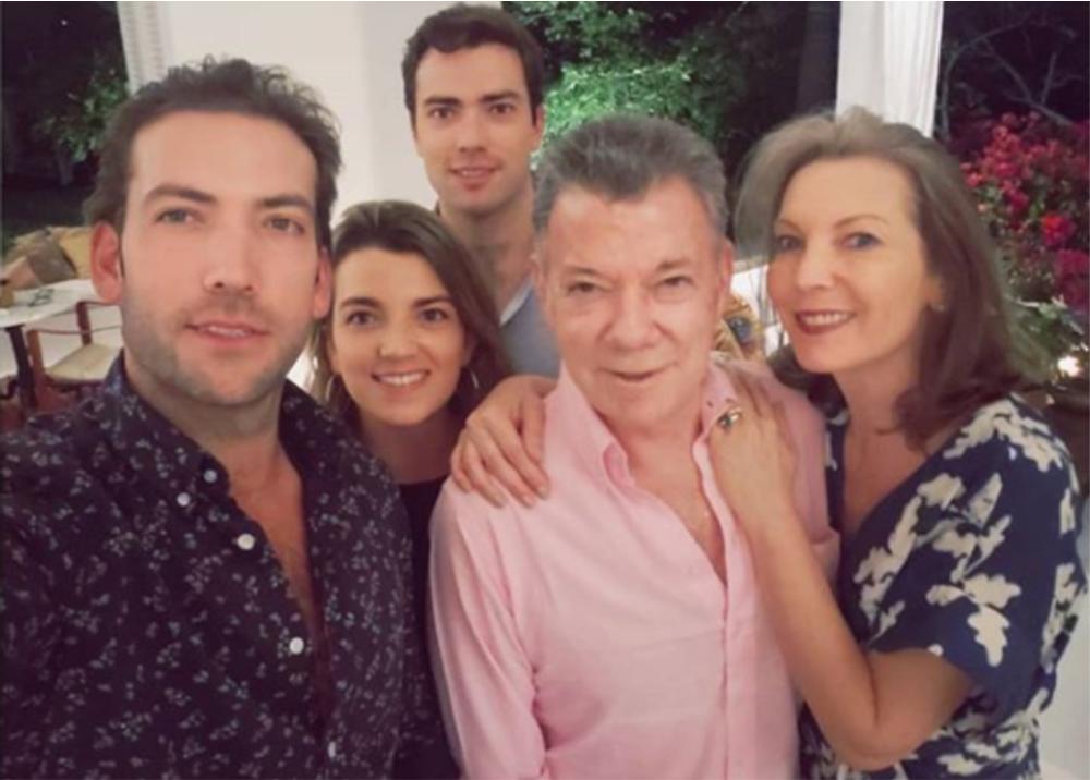 330787_BLU Radio. Familia Santos - Foto: Instagram Martín Santos