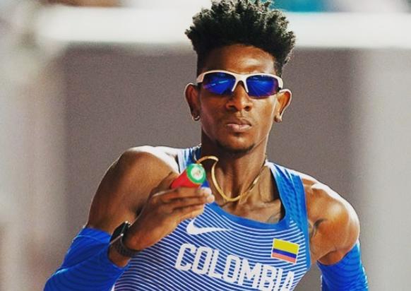 Alejandro Perlaza representará a Colombia en los Juegos Olímpicos de Tokio 2020.
