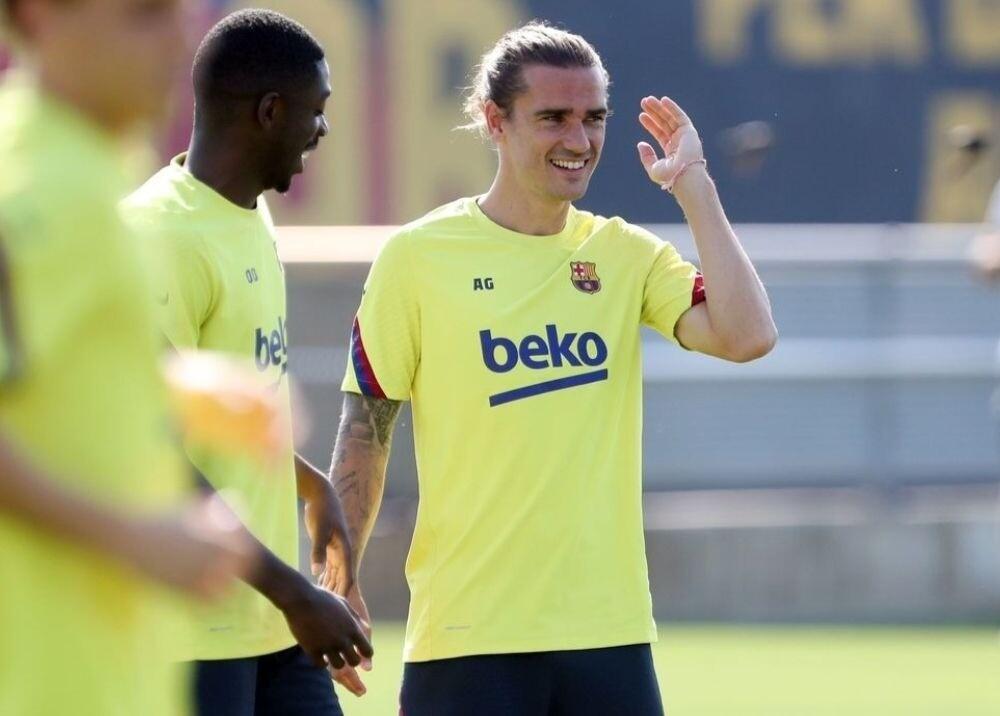 372967_Dembelé y Griezmann / Foto: FC Barcelona
