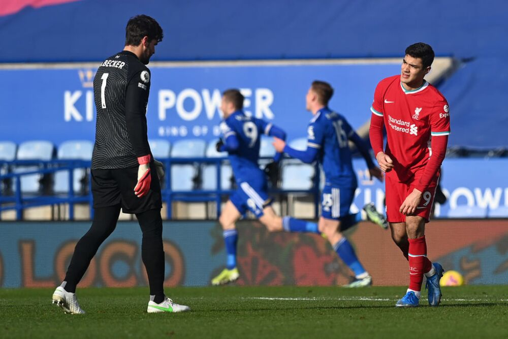 Alisson Liverpool vs Leicester