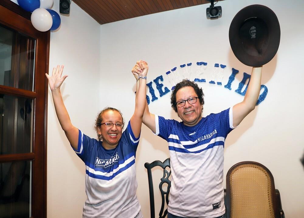 336082_BLU Radio. Periodistas en Nicaragua / Foto: AFP