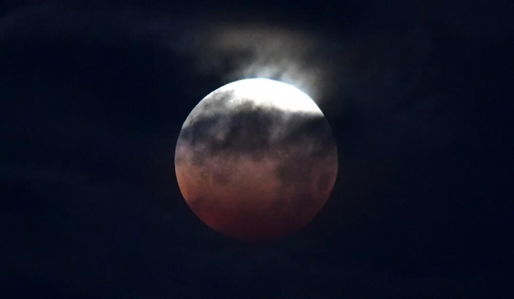 Eclipse de luna super luna