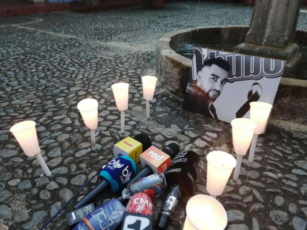Rechazo al asesinato del periodista Felipe Guevara