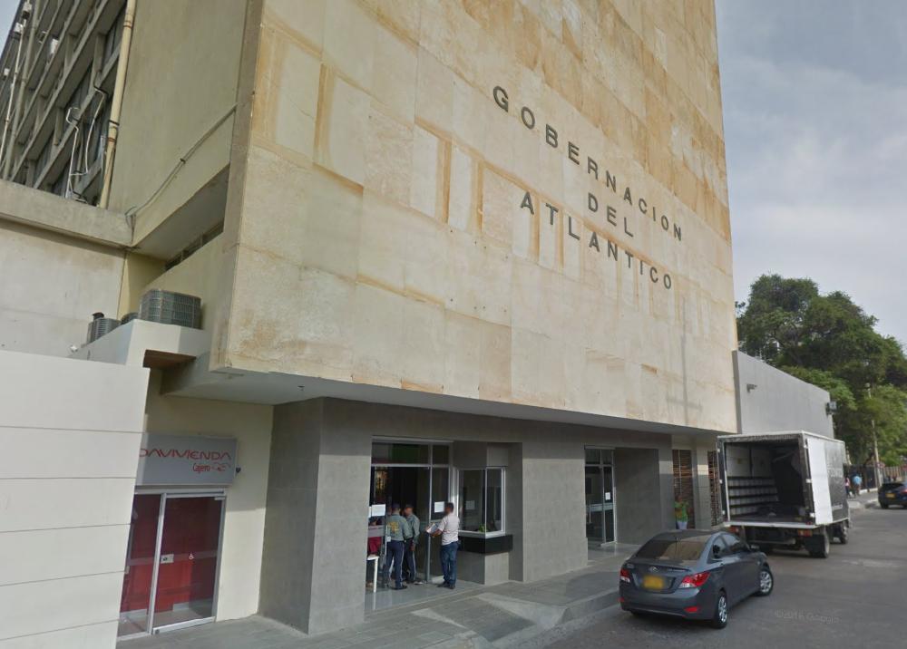 271859_Blu Radio. Edificio de la Gobernación del Atlántico. Foto: Google Maps