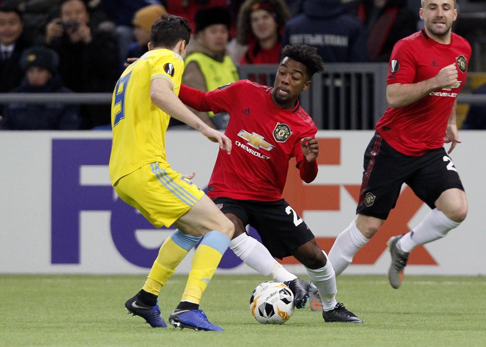 349546_BLU Radio. Astana venció vs Manchester United // Foto: AFP