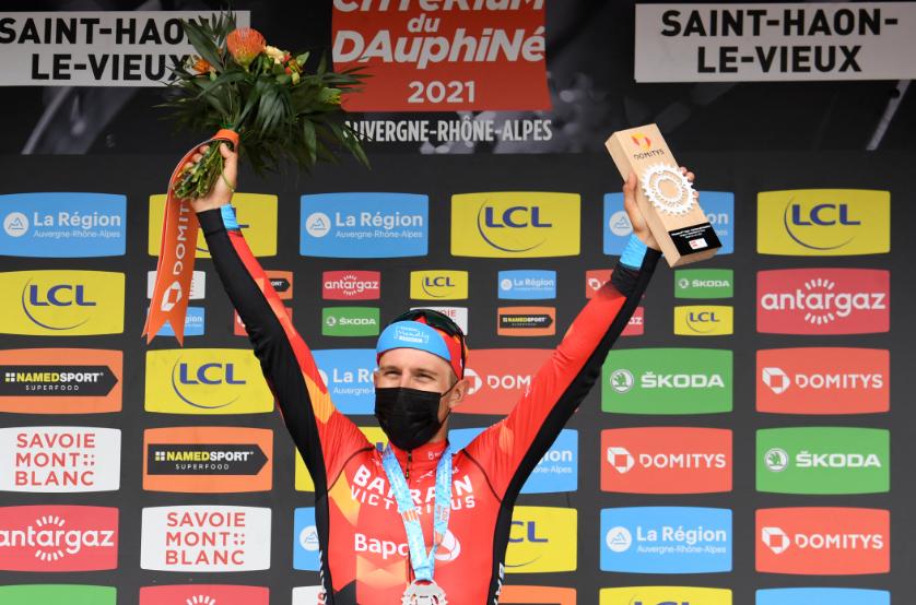 Sonny Colbrelli fue el ganador de la etapa 3 del Critérium del Dauphiné.