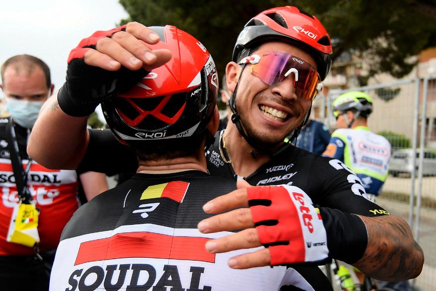 Caleb Ewan fue el ganador de la etapa 7 del Giro de Italia 2021.