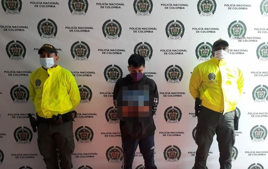 370129_Indígena capturado por, al parecer, violar a niña - Foto: Fiscalía