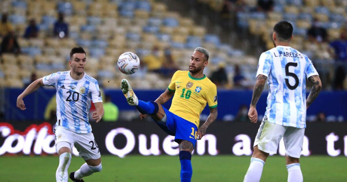 Argentina 1-0 Brasil EN VIVO: inicia la segunda parte con ventaja para la 'albiceleste'