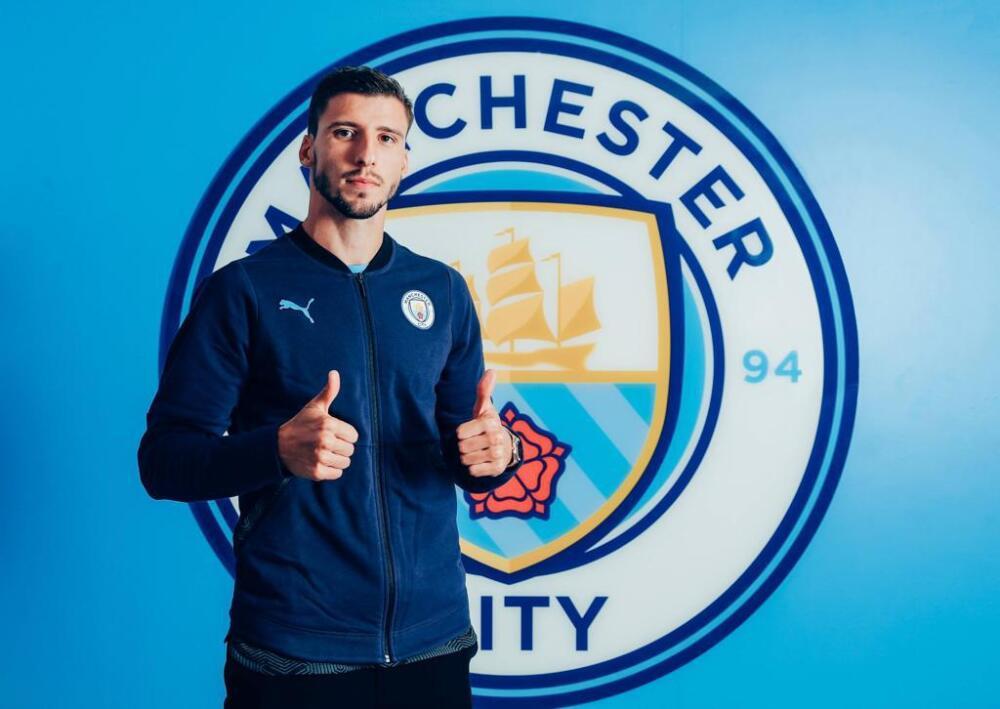 Ruben Dias, jugador de Manchester City