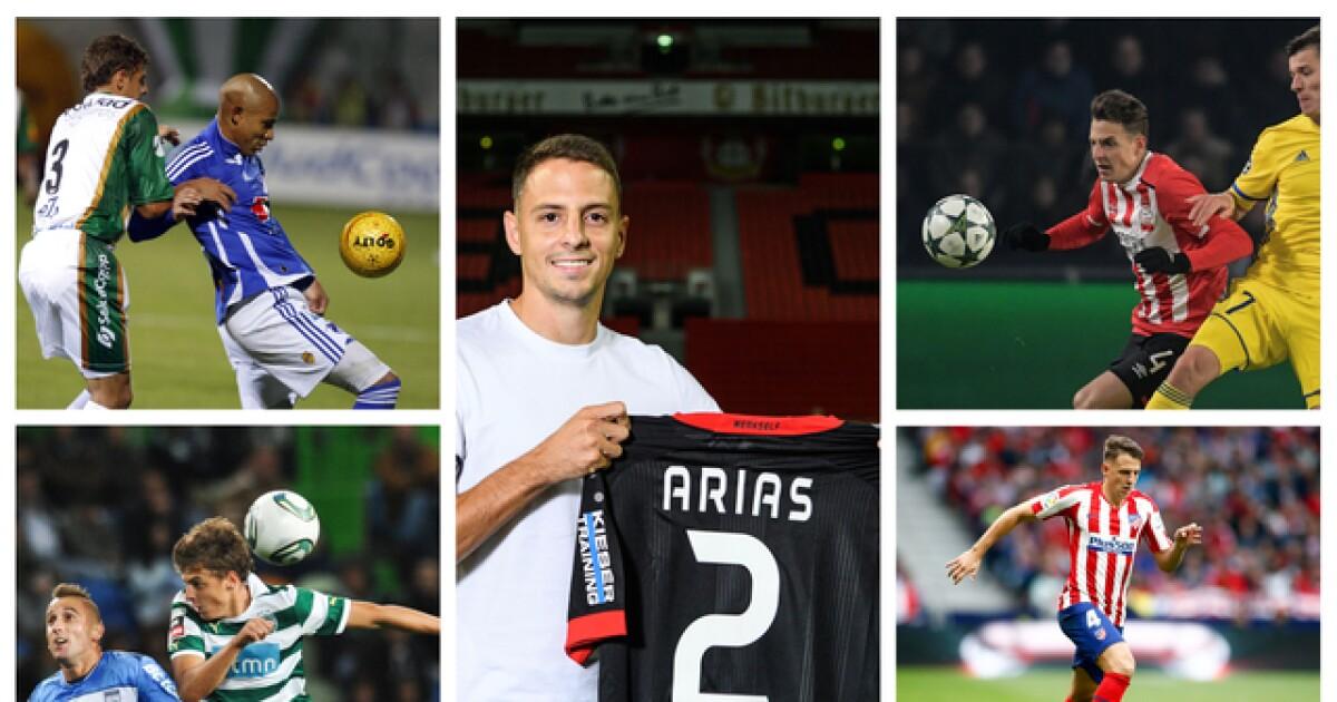 Santiago Arias, de debutar en La Equidad hasta llegar a Bayer Leverkusen, de Alemania