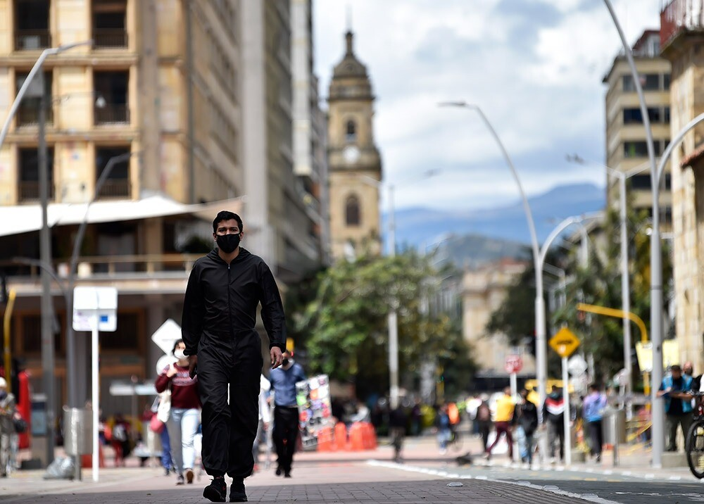 Pandemia en Bogotá :: Foto: AFP.jpeg