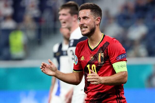 Eden Hazard, en la Eurocopa