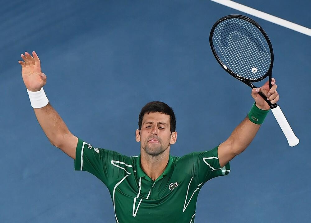 354009_Novak Djokovic // Foto: AFP