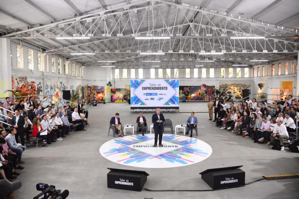 346299_BLU Radio// Iván Duque en taller de emprendimiento de la ANDI en Medellín. Foto: Presidencia