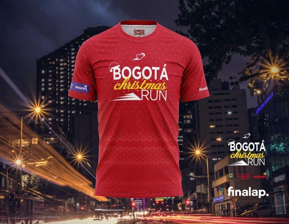 Camiseta Oficial Bogotá Christmas Run