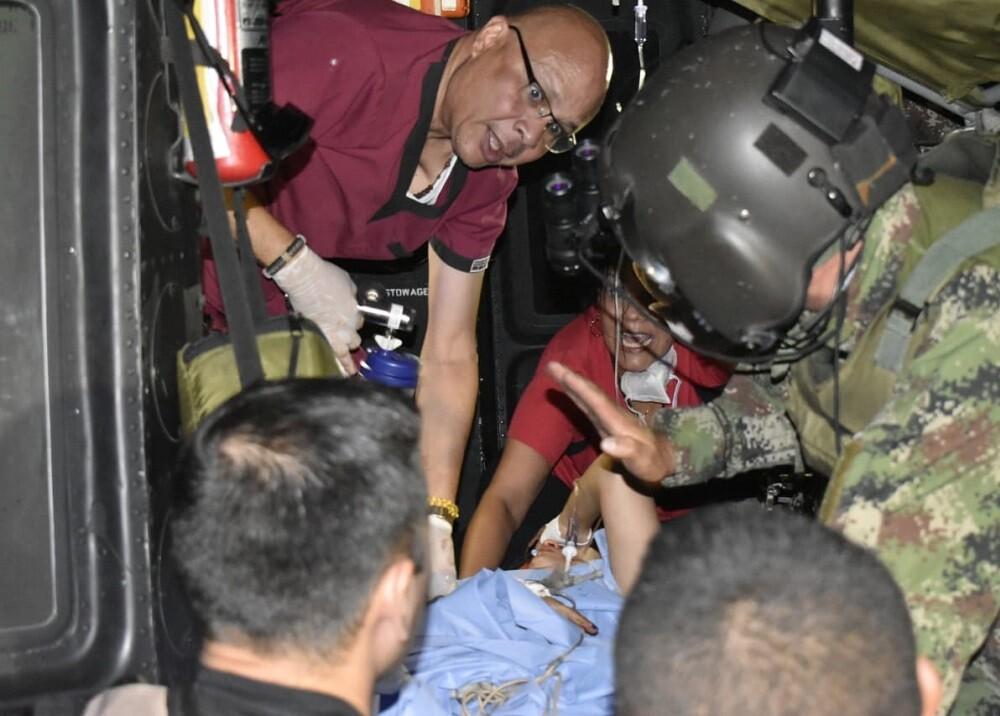 354364_BLU Radio. Doctora atacada en Tibú. Foto: Fuerza de Tarea Vulcano