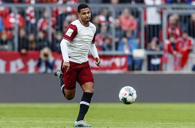 333471_Serge Gnabry, jugador del Bayern Múnich