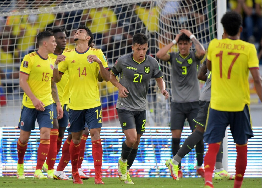 Colombia y Ecuador empataron Foto AFP.jpg