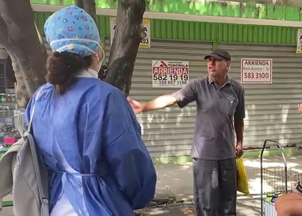 agresion a personal medico en cucuta por pedirle usar tapaboca.jpg
