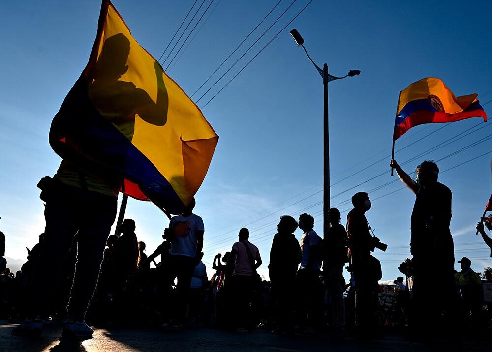Manifestación // Foto: AFP
