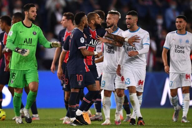 Las duras sanciones por la pelea entre PSG y Marsella, se confirmaron cuatro castigo más
