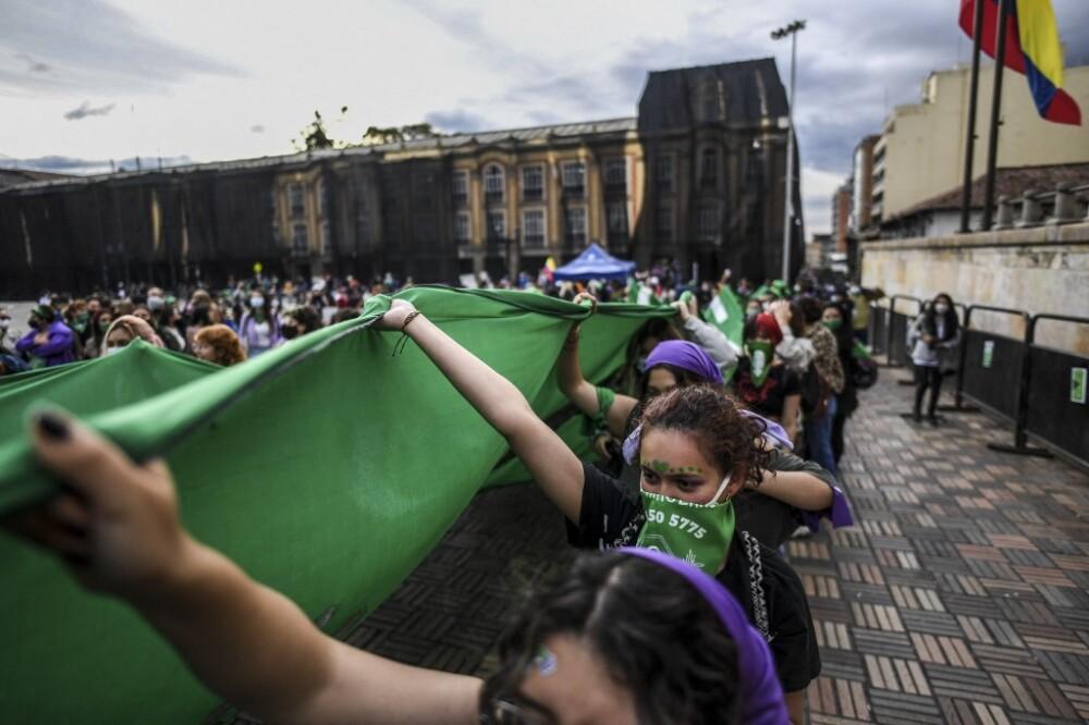 Marchas a favor del aborto en Colombia