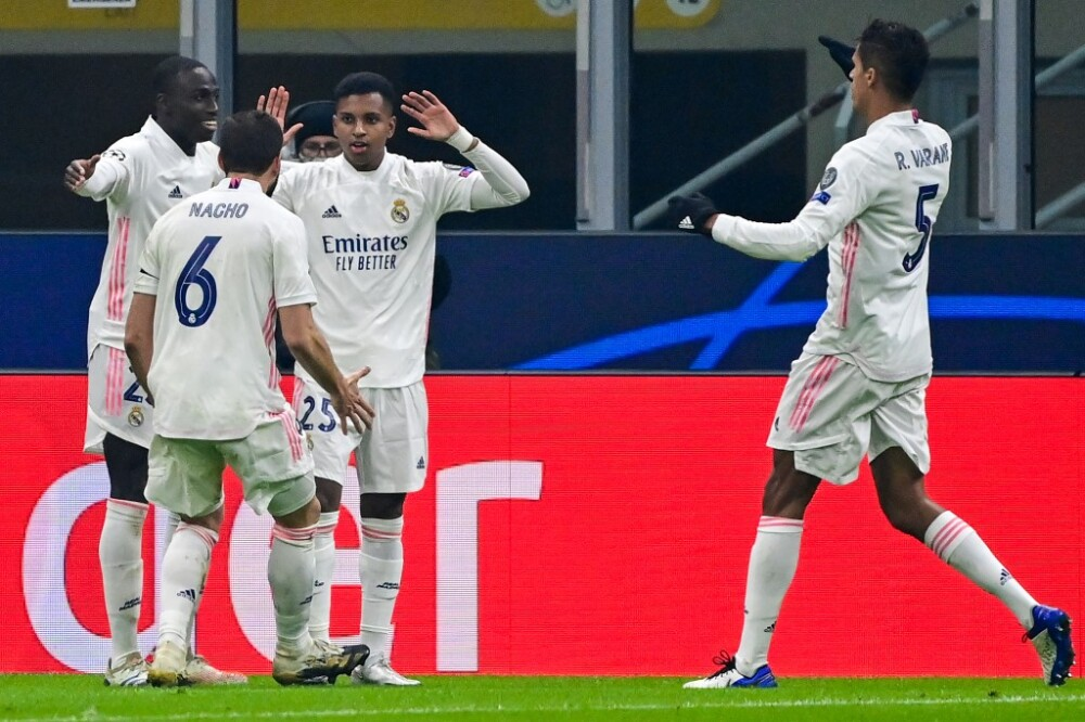 Rodrygo Real Madrid Inter